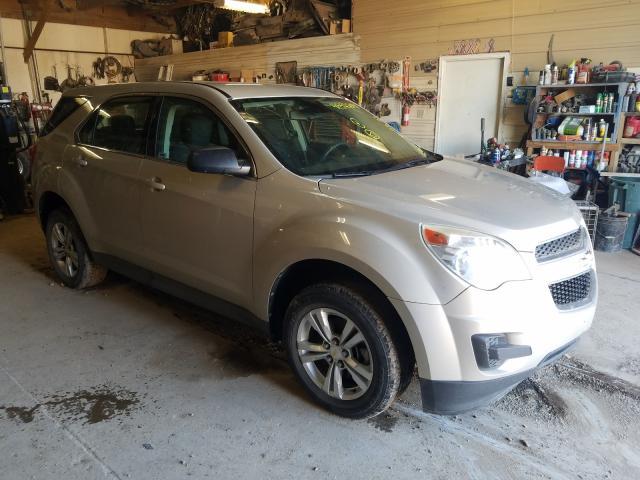 Vehiculos salvage en venta de Copart Billings, MT: 2012 Chevrolet Equinox LS