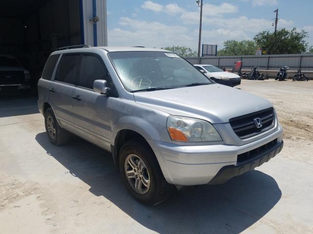 Salvage cars for sale from Copart Abilene, TX: 2003 Honda Pilot EXL