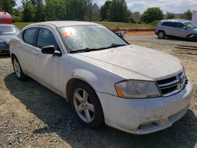 Salvage cars for sale from Copart Concord, NC: 2013 Dodge Avenger SE