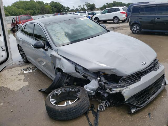 Salvage cars for sale from Copart Riverview, FL: 2021 KIA K5 GT Line