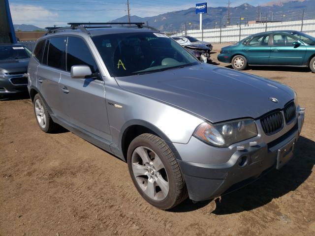 BMW Vehiculos salvage en venta: 2004 BMW X3 3.0I