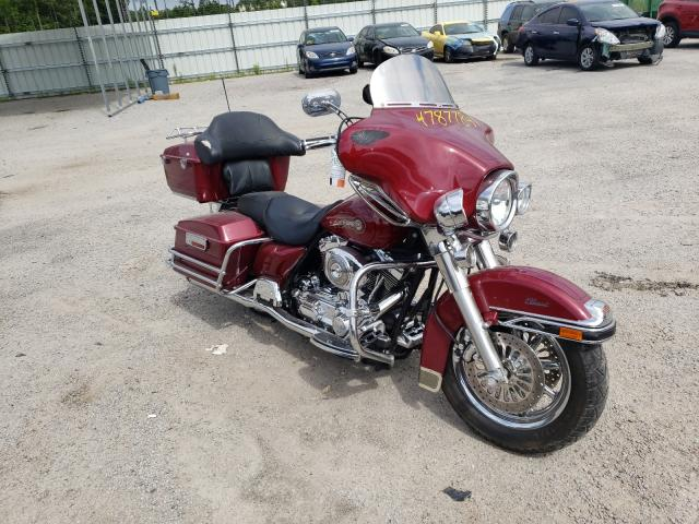 Salvage cars for sale from Copart Harleyville, SC: 2006 Harley-Davidson Flhtci