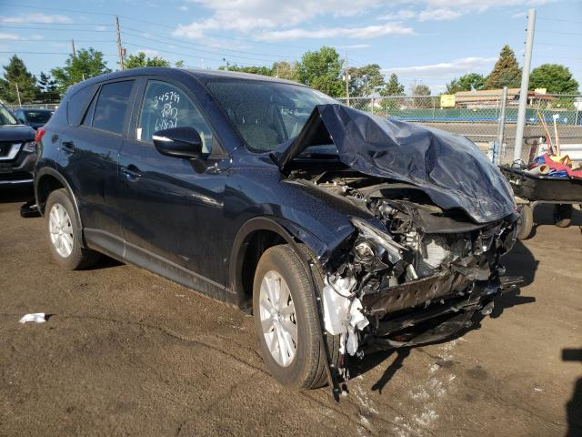 Salvage cars for sale from Copart Denver, CO: 2016 Mazda CX-5 Touring