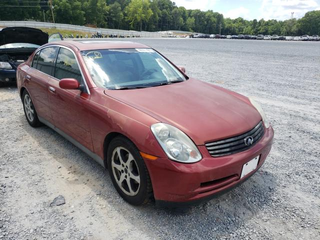 Salvage cars for sale from Copart Gastonia, NC: 2003 Infiniti G35