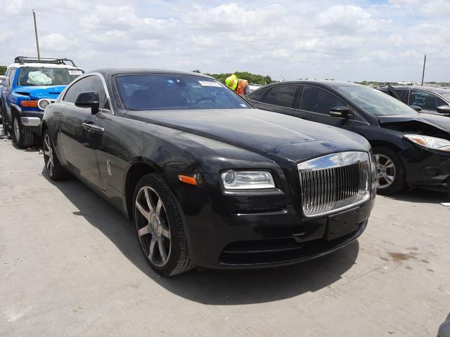 Salvage cars for sale at Grand Prairie, TX auction: 2016 Rolls-Royce Wraith