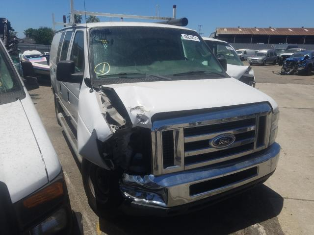 Salvage cars for sale from Copart Van Nuys, CA: 2013 Ford Econoline