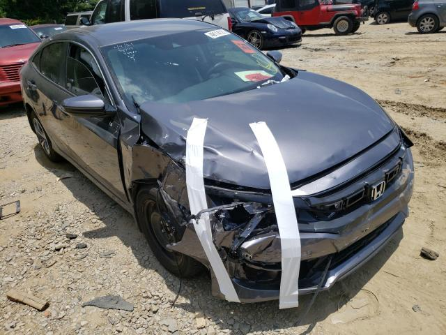 Salvage cars for sale from Copart Gainesville, GA: 2021 Honda Civic LX