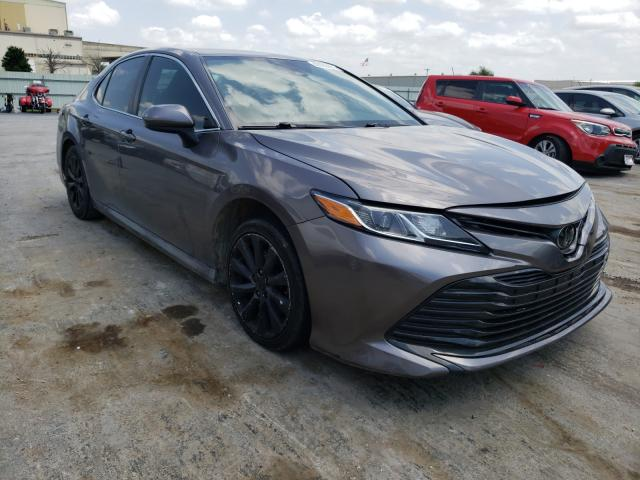 Salvage cars for sale from Copart Tulsa, OK: 2019 Toyota Camry L