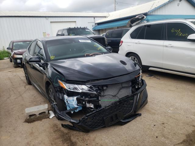 Salvage cars for sale from Copart Pekin, IL: 2020 Toyota Camry SE
