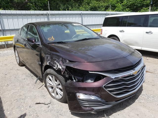 Salvage cars for sale from Copart Glassboro, NJ: 2020 Chevrolet Malibu LT