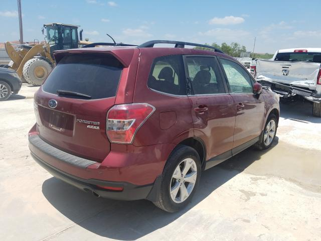 2015 SUBARU FORESTER 2.5I LIMITED, JF2SJAHC8FH****** - 4