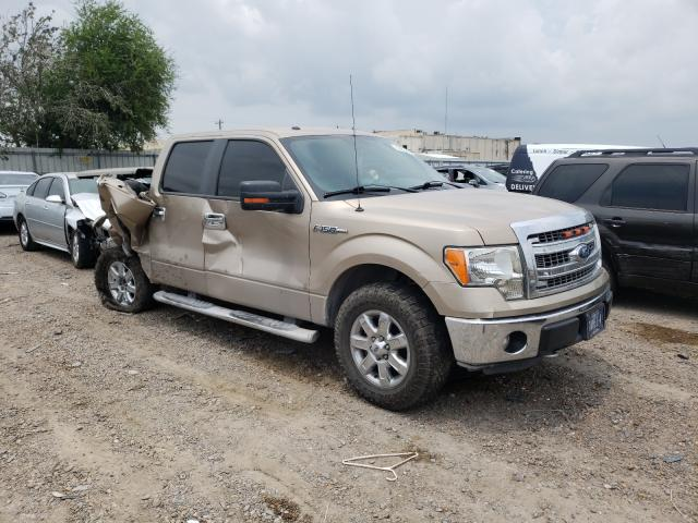 Salvage cars for sale from Copart Mercedes, TX: 2013 Ford F150 Super