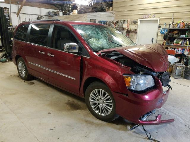 Salvage cars for sale from Copart Billings, MT: 2013 Chrysler Town & Country