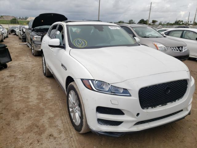 Salvage cars for sale from Copart West Palm Beach, FL: 2020 Jaguar F-PACE Premium