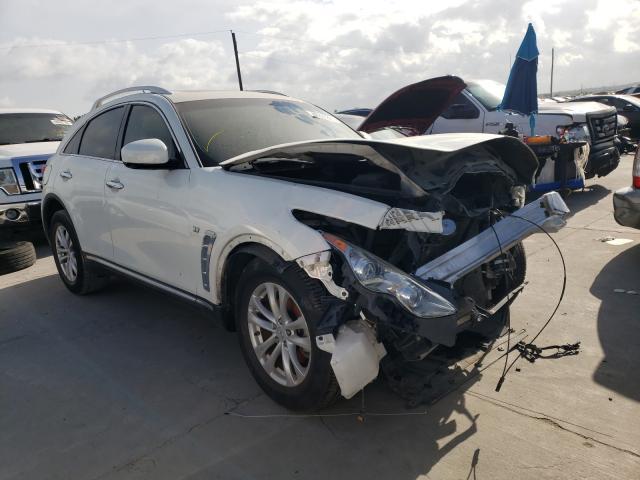 Infiniti QX70 salvage cars for sale: 2014 Infiniti QX70