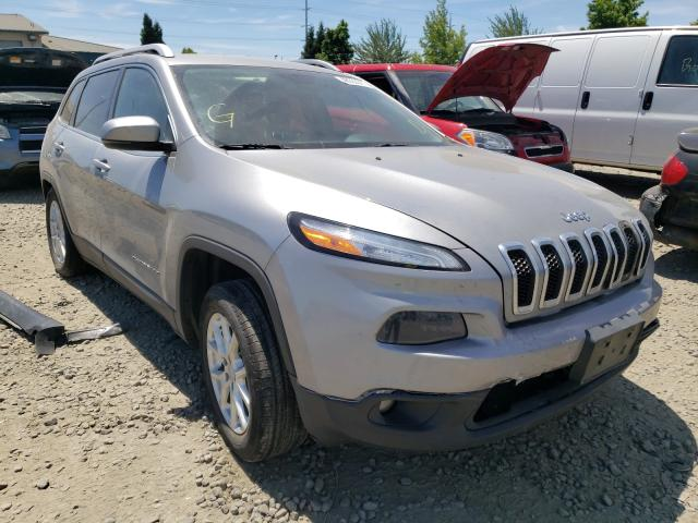 Salvage cars for sale from Copart Eugene, OR: 2015 Jeep Cherokee L