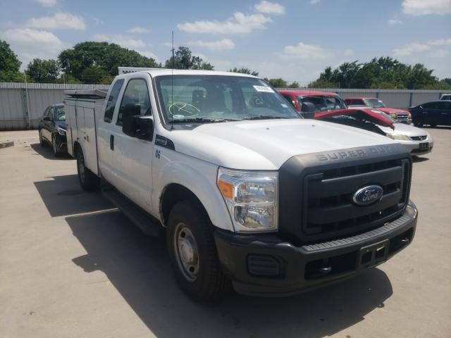 Salvage cars for sale from Copart Wilmer, TX: 2016 Ford F250 Super
