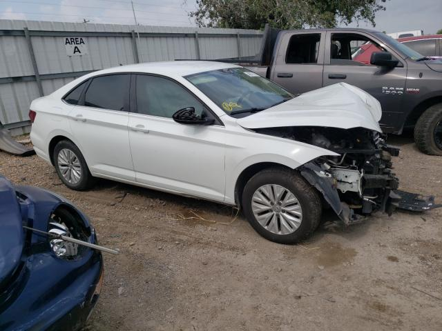 Salvage cars for sale from Copart Mercedes, TX: 2019 Volkswagen Jetta S