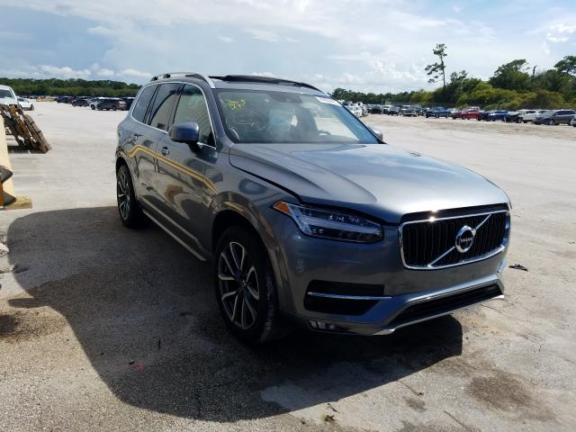 Salvage cars for sale at Fort Pierce, FL auction: 2016 Volvo XC90 T6