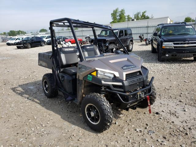 Salvage cars for sale from Copart Appleton, WI: 2019 Polaris Ranger 570