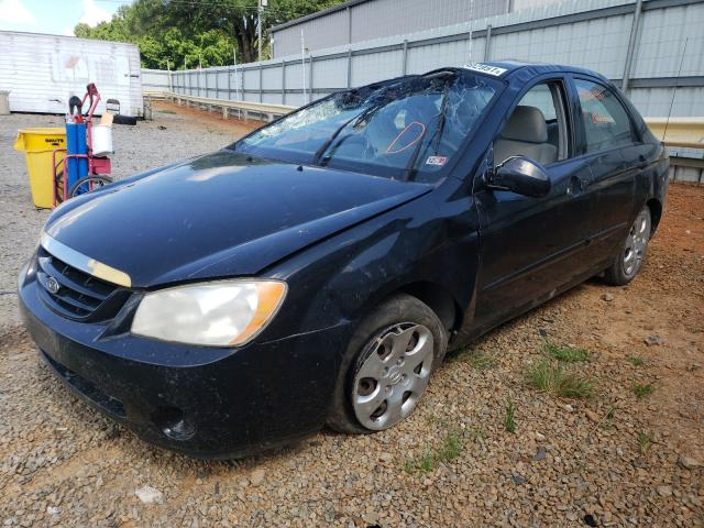 Salvage cars for sale from Copart Chatham, VA: 2006 KIA Spectra LX