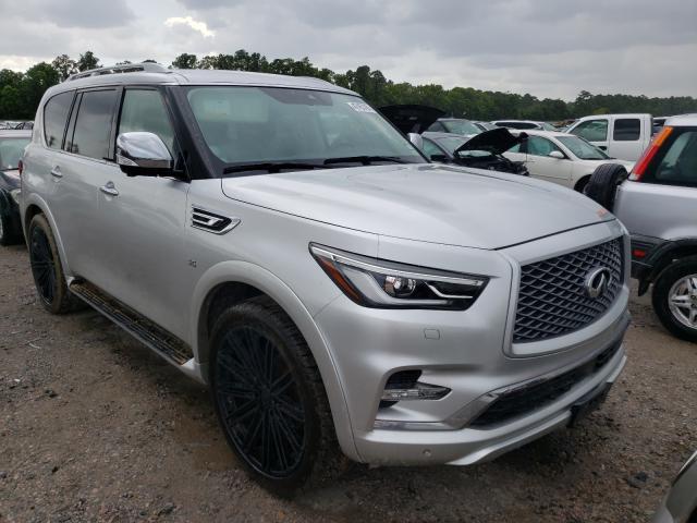 Infiniti salvage cars for sale: 2018 Infiniti QX80 Base