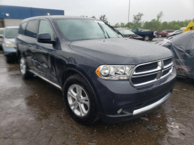 Salvage cars for sale from Copart Woodhaven, MI: 2013 Dodge Durango SX