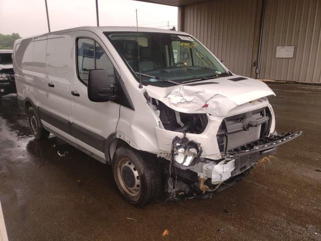Salvage trucks for sale at Fort Wayne, IN auction: 2020 Ford Transit T