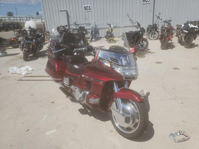 Salvage motorcycles for sale at Reno, NV auction: 1996 Honda GL1500 SE1