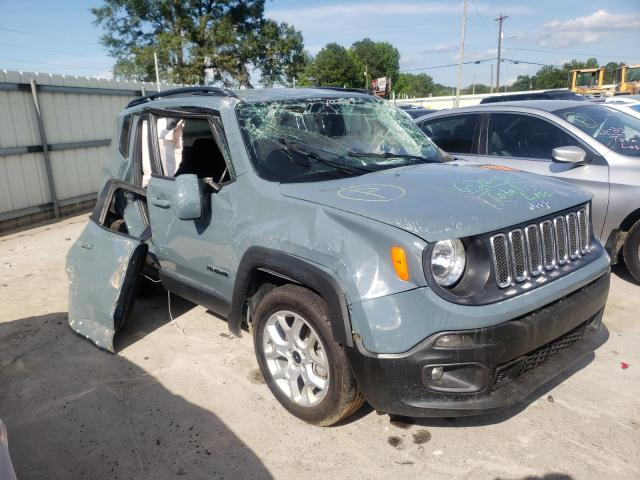 Salvage cars for sale from Copart Montgomery, AL: 2018 Jeep Renegade L