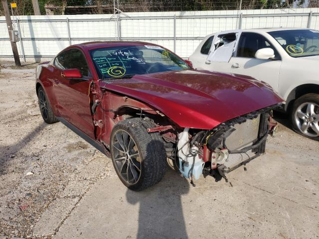 Salvage cars for sale from Copart Corpus Christi, TX: 2017 Ford Mustang