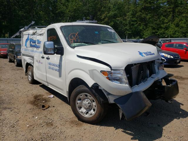 Salvage cars for sale from Copart Lyman, ME: 2021 Nissan NV 2500 SV