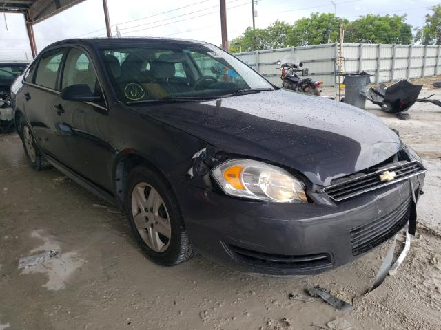 Salvage cars for sale from Copart Homestead, FL: 2009 Chevrolet Impala LS