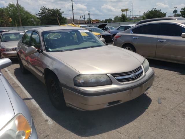 Chevrolet Impala salvage cars for sale: 2003 Chevrolet Impala
