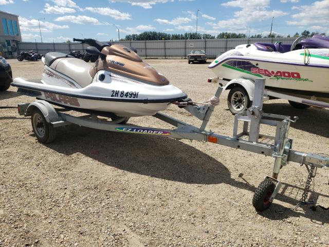 Salvage cars for sale from Copart Nisku, AB: 2002 Seadoo Virage TXI