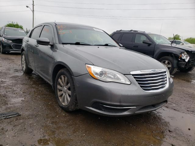 Salvage cars for sale from Copart Indianapolis, IN: 2012 Chrysler 200 Touring
