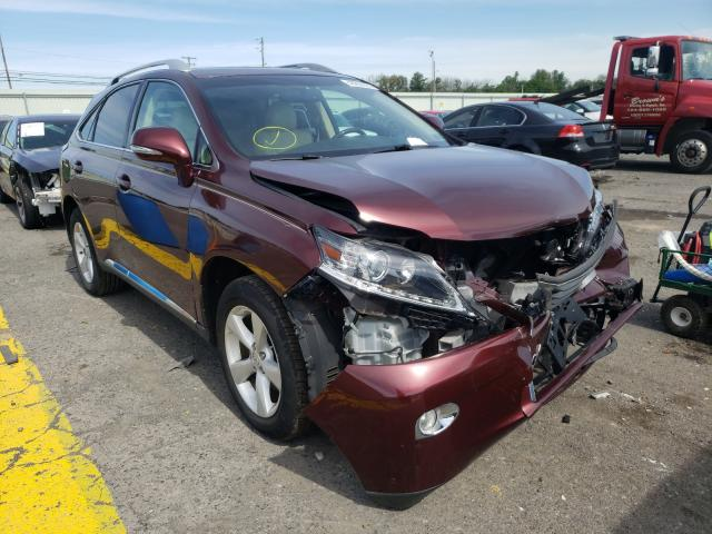 Salvage cars for sale from Copart Pennsburg, PA: 2014 Lexus RX 350 Base