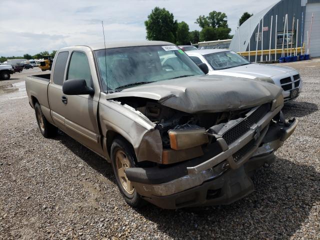 Salvage cars for sale from Copart Wichita, KS: 2003 Chevrolet Silverado