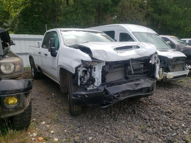 Salvage cars for sale from Copart Lufkin, TX: 2020 Chevrolet Silverado