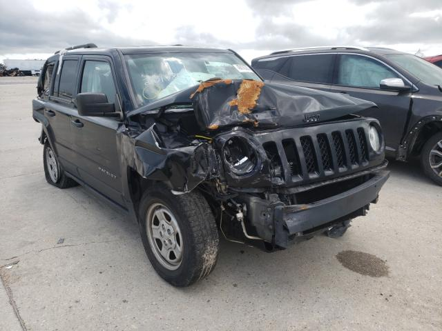 Salvage cars for sale from Copart New Orleans, LA: 2017 Jeep Patriot SP