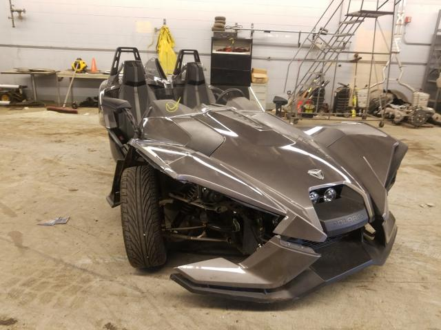 Salvage cars for sale from Copart Wheeling, IL: 2015 Polaris Slingshot