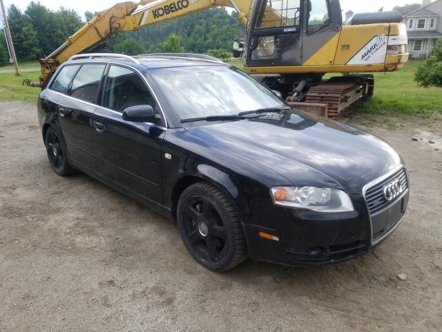 Salvage cars for sale from Copart West Warren, MA: 2006 Audi A4 2.0T AV