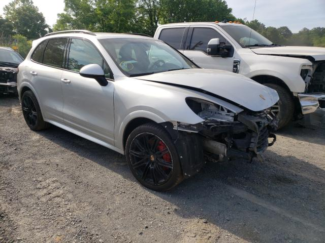 Salvage cars for sale from Copart Marlboro, NY: 2014 Porsche Cayenne GT