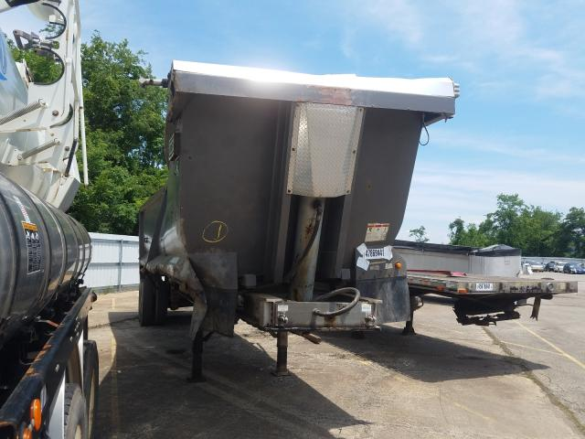 Salvage cars for sale from Copart West Mifflin, PA: 2011 East Manufacturing END Dump