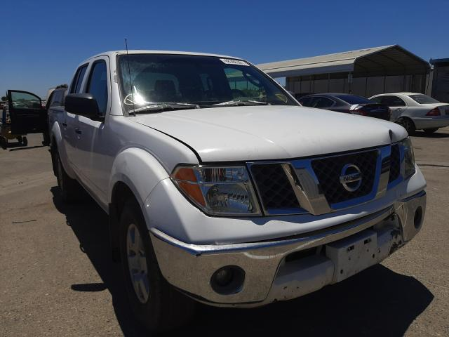 Salvage cars for sale from Copart Fresno, CA: 2005 Nissan Frontier C