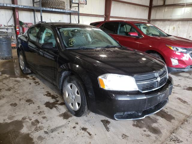 Salvage cars for sale from Copart Eldridge, IA: 2008 Dodge Avenger