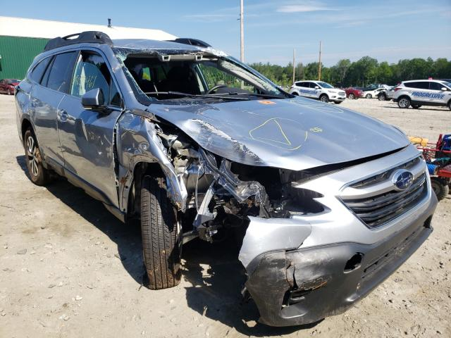 Salvage cars for sale from Copart Candia, NH: 2020 Subaru Outback PR