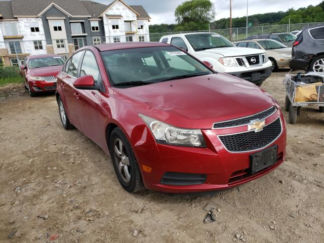 Salvage cars for sale from Copart Madison, WI: 2012 Chevrolet Cruze LT