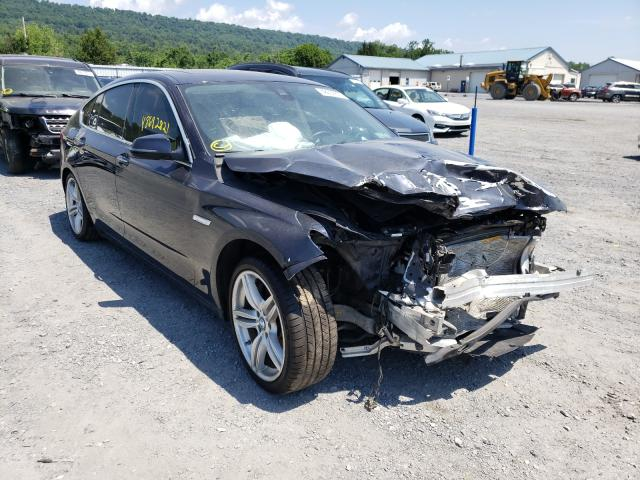 Salvage cars for sale from Copart Grantville, PA: 2017 BMW 535 Xigt