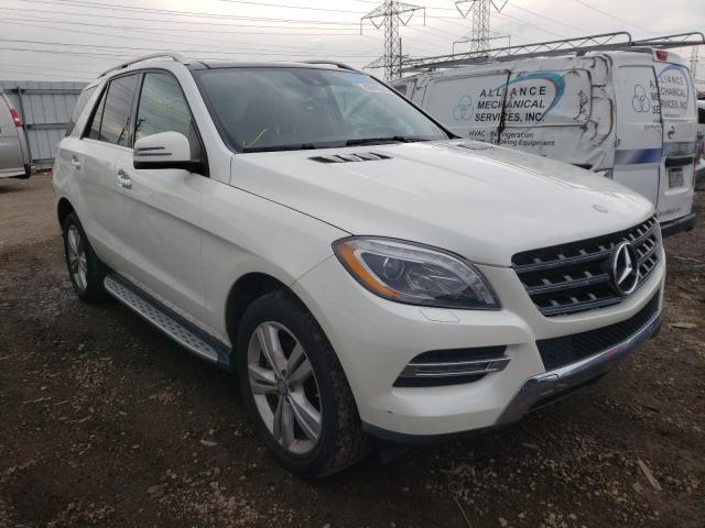 Vehiculos salvage en venta de Copart Elgin, IL: 2013 Mercedes-Benz ML 350